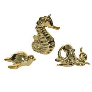 Διακοσμητικά Θαλάσσια Ζώα σε 3 Σχέδια Kaemingk 823740