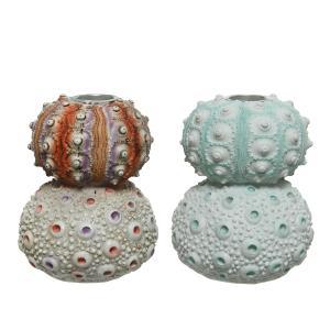 Διακοσμητικές Βάσεις Κεριών με Σχήμα Αχινού Kaemingk 828108