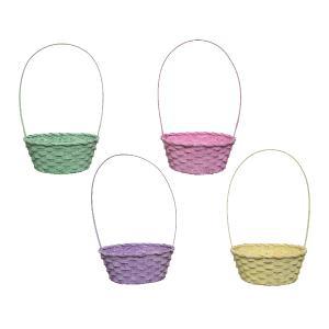 Καλαθάκια Αυγών απο Bamboo σε 4 χρώματα Kaemingk 838341