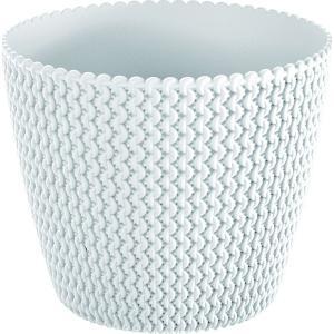 Κασπώ Λευκό Πλαστικό Splofy 13x11εκ. AI Decorations 975665