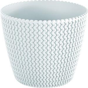 Κασπώ Λευκό Πλαστικό Splofy 16x13εκ. AI Decorations 975726