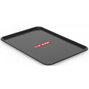Πλαστικός Δίσκος Ορθογώνιος Μαύρος 35x24x1,2cm  Araven AR00014023