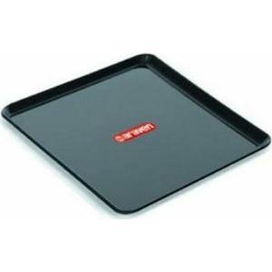 Πλαστικός Δίσκος Ορθογώνιος Μαύρος 20x15x1,2cm Araven AR00041021