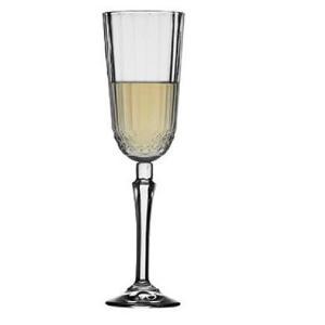 Ποτήρι Σαμπάνιας Diony Γυάλινο Κολωνάτο 125ml Espiel CAM440210