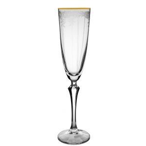 Ποτήρι Κολωνάτο Σαμπάνιας Flute 200ml Elisabeth - Q8890/G CLX08890024 Bohemia