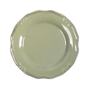 Πιάτο Ρηχό Φυστικί Στρογγυλό 21εκ Tiffany Espiel RSL103K6
