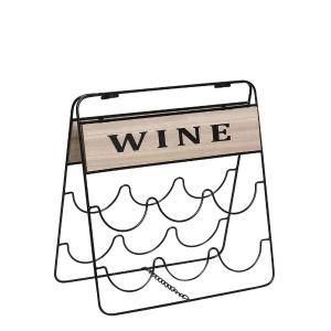 Wine Rack Με Λαβή 37x18x37cm Espiel  FEI212