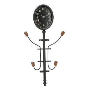 Επιτοίχιο ρολόι κρεμάστρα 68.5 εκ. Espiel GAD137