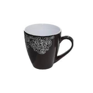 Κούπα Κεραμική 380ml Black Vienna Espiel HUN108K6