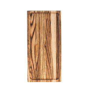 Ξύλινο πιάτο καστανιάς 35×17 σκαμμένο ΚΑΣ-020163 Rozos