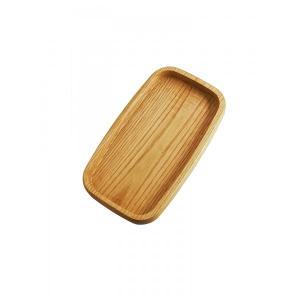 Ξύλινο Πιάτο Καστανιάς Σκαφτό 30Χ16,5Χ3,2 ΚΑΣ-080001 Rozos