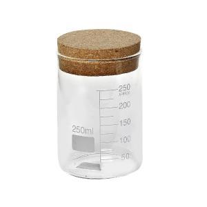 Δοχείο Γυάλινο Με Πώμα Από Φελλό 250ml 7x11cm Espiel LOR614K12