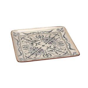 Πιατέλα Ρηχή Τετράγωνη 21εκ Mosaico Espiel LIS110