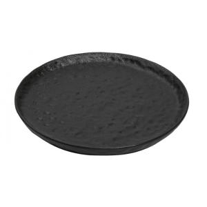 Πιάτο Ρηχό Μαύρο Στρογγυλό 27εκ Lava Line Espiel NOL118K4