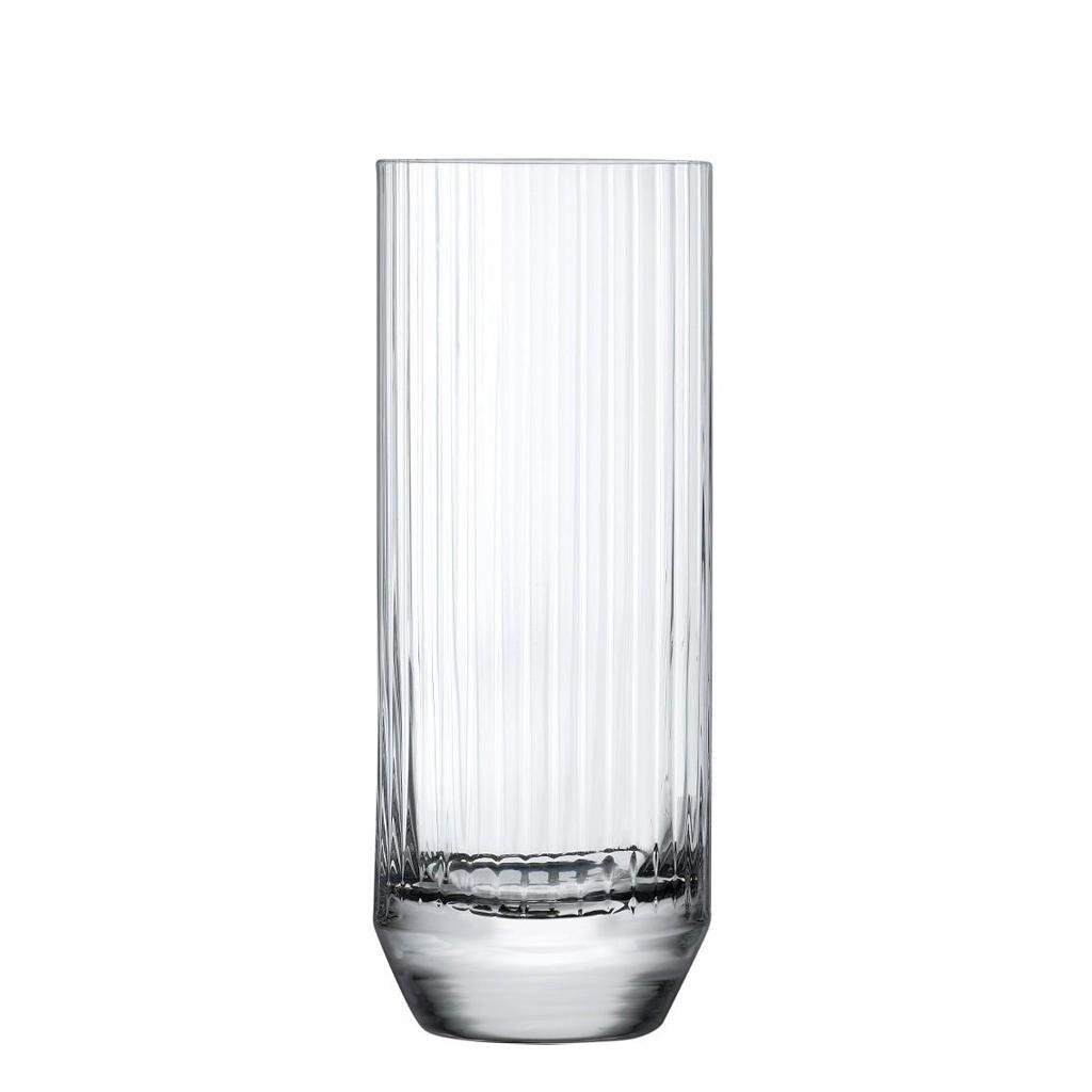Ποτήρι Κοκτέιλ/Νερού Γυάλινο 340ml Nude Big Top High Ball Espiel NU64152-6