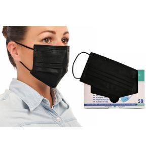 Μάσκες Medi Μιας Χρήσης Μαύρη Κουτάκι 50τεμ ΠΡ-ΜΑ-02 Finezza