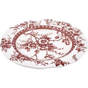 Πιάτο Βαθύ Στρογγυλό Tif Red Ø24cm Oriana Ferelli PS00330224