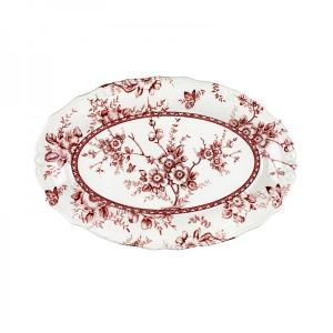 Ραβιέρα Κεραμική 22εκ. Tif Red Oriana Ferelli  PS00330522