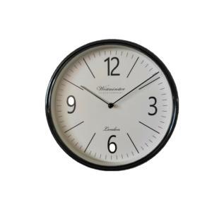 Ρολόι Τοίχου 30cm Μαύρο Πλαστικό 7272-A Oriana Ferelli QN00072721