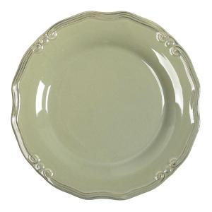 Πιάτο Ρηχό Φυστικί Στρογγυλό Tiffany 27εκ Espiel RSL101K6