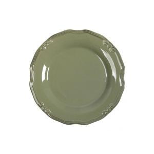 Πιάτο Ρηχό Φυστικί Στρογγυλό 27εκ Tiffany Espiel RSL101K6