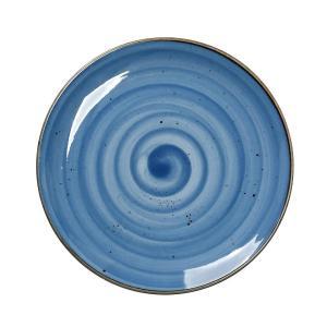 Espiel Πιάτο Ρηχό Μπλε Στρογγυλό 26.5cm Terra Espiel TLF101K6
