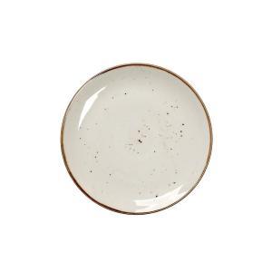 Πιάτο Φρούτου Κρεμ Στρογγυλό 19cm Terra Espiel TLK103K6