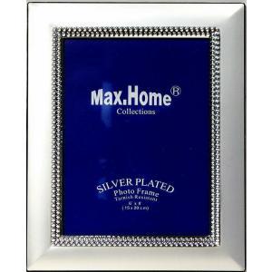 Κορνίζα Ασημί Μεταλλική 13x18cm Η46-43 Max Home WH46063003