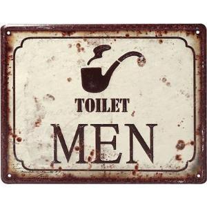"""Ταμπελάκι """"Toilet Men"""" Espiel LOG202"""