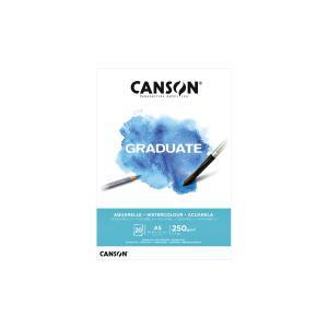 Canson Μπλοκ Graduate Aquarelle 250gr Α5 20 φ.