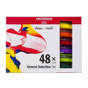 Royal Talens Amsterdam All Acrylics Standard 20ml 48τεμ.
