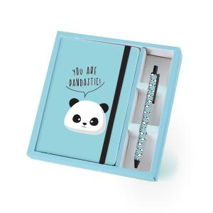 Total Gift Σετ Notebook + Στυλό You Are Pandastic