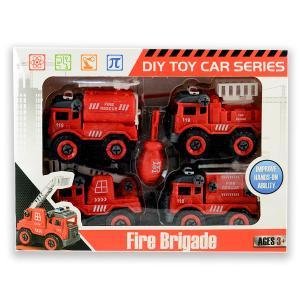 Πυροσβεστικά οχήματα σετ 5 τεμαχίων