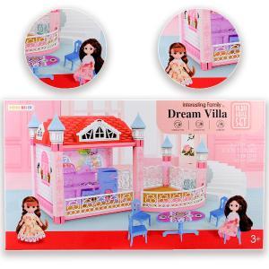 Πλαστική βίλα όνειρο για κούκλες