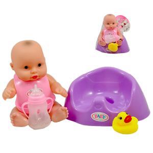 Μωρό καθιστό σε γκιο γκιο