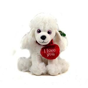 Σκυλάκι λούτρινο καρδιά