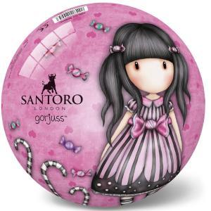 Μπάλα πλαστική ρόζ Santoro