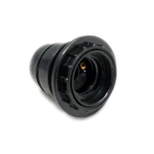 Ντουί βακελίτη με δαχτυλίδι μαύρο Ε27