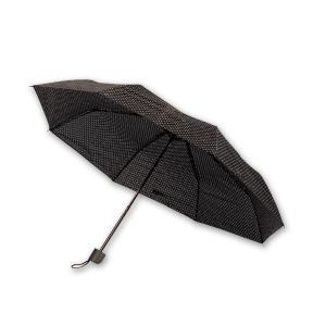 Ομπρέλα πουά μαύρη 24 εκατοστά