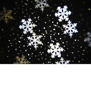 Προτζέκτορας αλουμινίου νιφάδες με χιόνι λευκό LED λαμπάκια χριστουγεννιάτικα