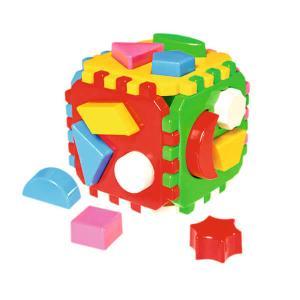 Κύβος δραστηριοτήτων με σχήματα