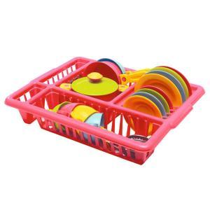Πλαστικό στεγνωτήριο πιάτων & σερβίτσιο παιχνίδι