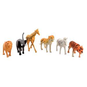 Άγρια ζώα σετ 6 τεμαχίων