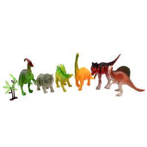 Δεινόσαυροι σετ 6 τεμαχίων