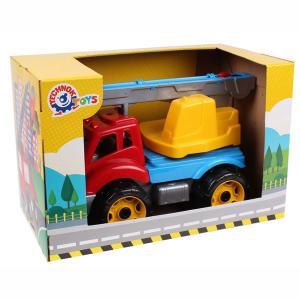 Φορτηγό γερανός πλαστικό παιχνίδι