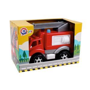 Πυροσβεστικό όχημα σε κουτί παιχνίδι