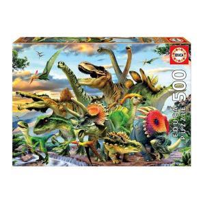 Παζλ 500 τεμαχίων Δεινόσαυροι