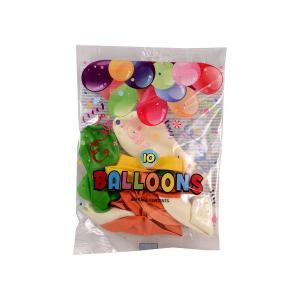 Μπαλόνια διάφορα 10 τεμαχίων