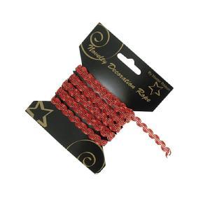Κορδόνι 3μ κόκκινο δαντέλα