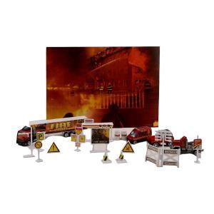 Πυροσβέστες σετ μεταλικό παιχνίδι